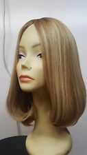 Malky European Multidirectional Hair Kosher Wig Sheitel Blonde  24/12 bob medium