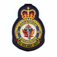 RCAF CAF Canadian 413 Squadron Heraldic Colour Crest Patch