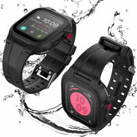 42/44mm Waterproof Shockproof Case with Band For Apple Watch Series 5 4 3 2