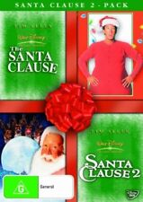 The Santa Clause  / Santa Clause 02 (DVD, 2007, 2-Disc Set)