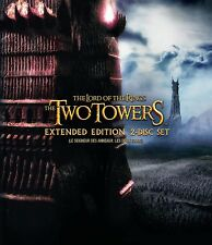 NEW 2 DISC BLU-RAY EXTENDED EDITION - LORD OF THE RINGS - THE TWO TOWERS -
