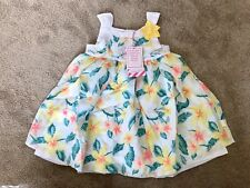BRAND NEW Size 1 Pumpkin Patch Floral Flower Dress Island Time
