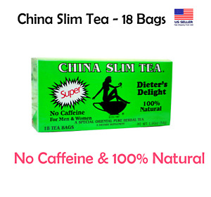 China Slim Tea Dieter's Delight extra strength 18 Tea Bags *US Seller, Free Ship