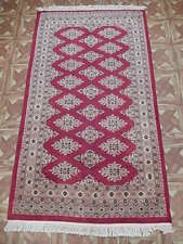 Apple Red Rug (37 x 65 in) Silk Touch Handmade Rug