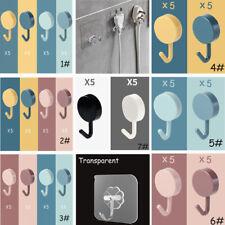 Selbstklebend Haken Klebehaken Steckhaken Wandhaken stanzfrei Farbe &Transparent