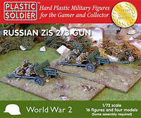 Plastic Soldier Company - PSC WW2 G20002-7212 WWII Russian Zis2-3 Anti Tank Gun