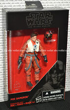 "Star Wars The Force Awakens 3.75"" Black Series Figure Poe Dameron"