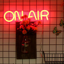 ON AIR Neon Sign Lights Visual Bar Beer Pub Store Display Wall Decor Party LED