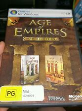 Ages of Empires III with War Chiefs Gold Edition - PC GAME - FAST POST