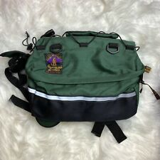 New listing Outward Hound Quick-Release Dog Backpack, Pet Travel Hiking Green Size Medium