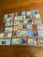 1991 Topps Desert Storm Trading Cards lot of 58 Geography Maps Places Gulf War