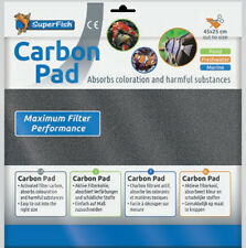 Superfish Filtro a carbone Pad 45x25cm tagliata a misura si adatta alla maggior parte dei filtri acquario