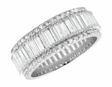 Anillos de joyería con gemas alianzas de plata de ley