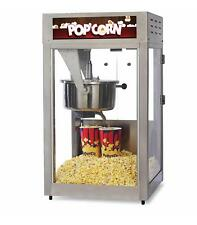 16oz Tempered Glass Popcorn Popper With Removeable Kettle