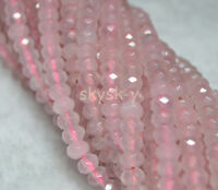"Lots 4x6mm Faceted Multi-Color Gemstone Abacus Rondelle Loose Beads 15"" Strands"