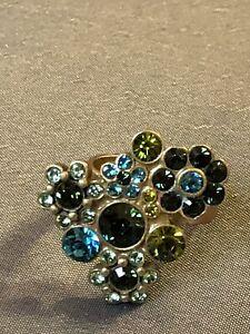 Wunderschöner bunter Ring von PILGRIM - one Size