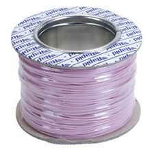 Model Railway/Railroad Layout/Point Motor etc Wire 100m Roll 7/0.2mm 1.4A Pink