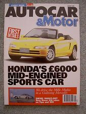 Autocar (22 May 1991) Dodge Stealth R/T, Alfa 33, Rover 218 v Peugeot 309 & Tipo