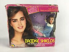 Vintage 1982 Brooke Shields Doll in Original Box Never Used