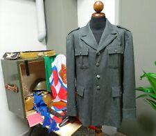 WW2 Ripr. Giacca Ufficiale Uniforme Mod 1940 Regio Esercito italiano Grigioverde