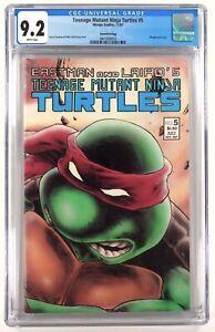 Teenage Mutant Ninja Turtles 5 Second Print Variant CGC 9.2 - 1 Lot TMNT Not 9.8