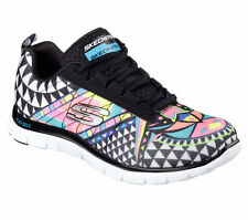 Skechers Standard Width (B) Lace Up Textile Shoes for Women