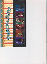 2001 Royal Mail presentación Pack Punch y Judy Perfecto decimal Sellos