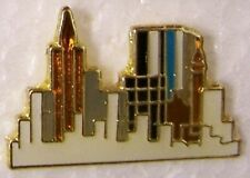 Hat Lapel Pin humorous City Skyline NEW