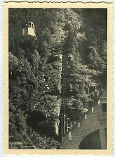 PHOTO ANCIENNE - TÉLÉPHÉRIQUE MONTAGNE - CABLE RAILWAY MOUNTAIN-Vintage Snapshot