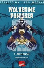 Marvel France  100%  MARVEL WOLVERINE / PUNISHER  N° 1