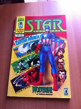 STAR MAGAZINE nr 18 STAR COMICS 92 MARVEL CAPITAN AMERICA WOLVERINE X-MEN