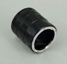 Macro Extension Tube Ring For Nikon D90 D800 D300s D7100 D610 D5300 D5200 D3300
