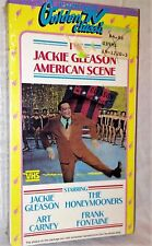 VINTAGE 1986 SEALED JACKIE GLEASON VHS AMERICAN SCENE HONEYMOONERS ART CARNEY