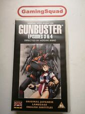 Gunbuster Episodes 3 & 4 VHS ANIME MANGA, Supplied by Gaming Squad