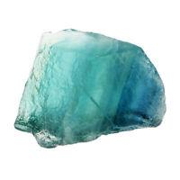 Specchio da tavolo in pietra minerale naturale di colore verde fluorite blu