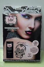 WICKED PRINCESS TEMPORARY TATTOO Junkee Adult Women Costume Body Art Matte NEW