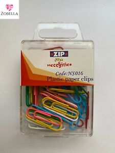 Coloured Paperclips, Paper Clips, Clips, Fasteners, Various Items  #MULTI BUY#