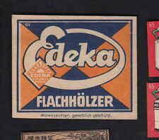 Ancienne étiquette  allumettes  de paquet Allemagne   BN7152 Edeka