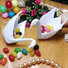 12pcs Cajas de Cisnes de Caramelos Decoración de Dulce para Mesa de Boda