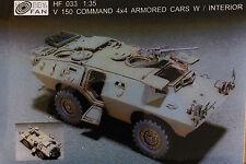 Hobby Fan 1/35 V150 Commando 4x4 Armored car w/ interior (Resin kit) - HF033