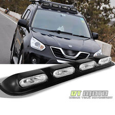 Off Road 4X4 Truck SUV Pickup Headlight Roof Lamp Bar Fog Lights+Switch+Bulbs