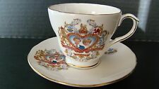 1981 Duchess Bone China England Charles & Diana Cup And Saucer