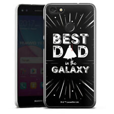 Huawei Y6 Pro (2017) Handyhülle Case Hülle - Best Dad in Galaxy