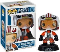 Funko Pop! Star Wars Luke Skywalker X-Wing Pilot Vinyl Bobble-Head Figure #17