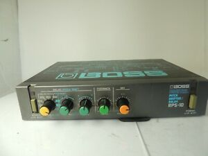 Boss RPS-10 Micro Rack Digital Pitch Shifter/Delay Guitar Effects Processor