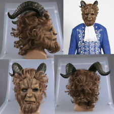 Beauty and the Beast Deluxe Adult Mens Mask Disney Halloween Costume Cosplay