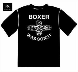 """BMW Shirt Motorrad """"BOXER, WAS SONST"""""""