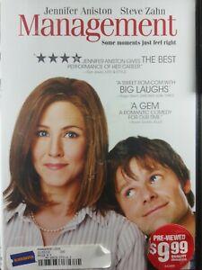 Management DVD MOVIE Jennifer Aniston, Steve Zahn, Woody Harrelson COMEDY