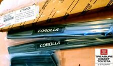 NEW OEM TOYOTA COROLLA HATCHBACK DOOR SILLS PROTECTORS 4 PIECE SET