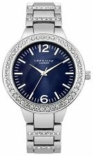 Identity London Ladies Metal Bracelet Blue Stone Set Dial Watch - From Argos